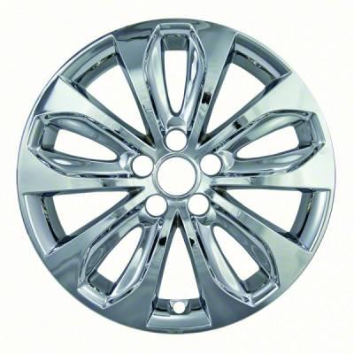 """Hyundai - Sonata - CCI - 2011-2013 HYUNDAI SONATA 18"""" CHROME WHEEL SKINS SET OF FOUR IMP353X"""