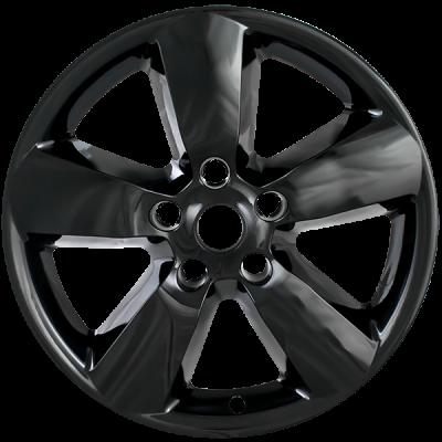 "Dodge - Ram 1500 - CCI - 2013-2018 DODGE RAM 20"" GLOSS BLACK WHEEL SKINS SET OF FOUR IMP361BLK"