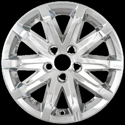 "Cadillac - CTS - CCI - 2014-2016 CADILLAC CTS CHROME 17"" WHEEL SKINS SET OF FOUR IMP368X"