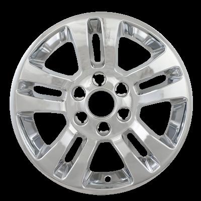 """Chevrolet - Silverado 1500 - CCI - 2014-2019 CHEVROLET SILVERADO 1500 18"""" CHROME WHEEL SKINS SET OF FOUR IMP377XN"""