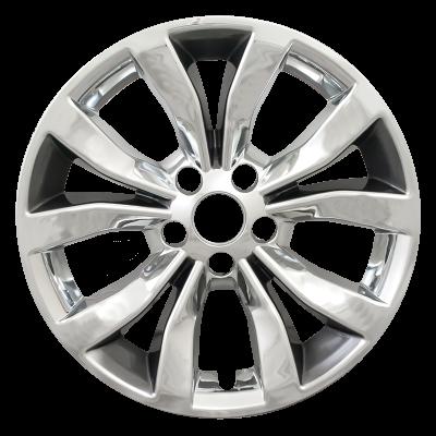 "Chrysler - 300 - CCI - 2015-2018 CHRYSLER 300 17"" CHARCOAL CHROME WHEEL SKINS IMP381CC SET OF FOUR"