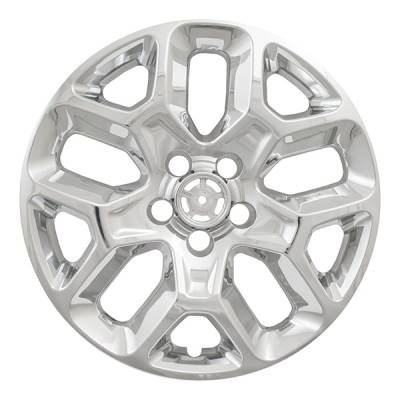 "Jeep - Renegade - CCI - 2015-2018 JEEP RENEGADE 17"" CHROME WHEEL SKINS SET OF FOUR IMP386X"