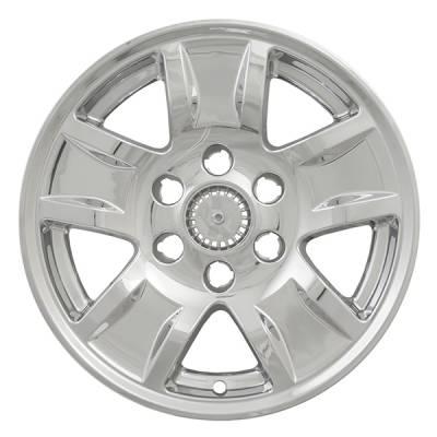 """Chevrolet - Silverado 1500 - CCI - 2014-2018 CHEVROLET SILVERADO 1500 17"""" CHROME WHEEL SKINS SET OF FOUR IMP390X"""