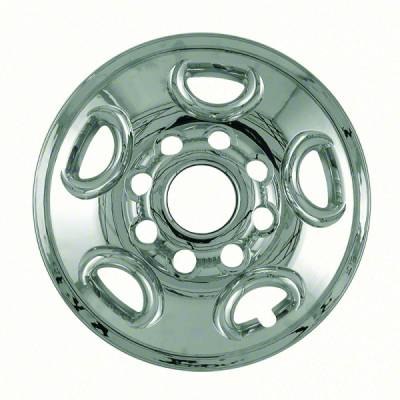 "GMC - Savana - CCI - 2003-2017 GMC SAVANNA 16"" CHROME WHEEL SKINS SET OF FOUR IMP50X"