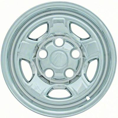 "Dodge - Datoka - CCI - 2005-2011 DODGE DAKOTA 16"" CHROME WHEEL SKINS SET OF FOUR IMP72X"