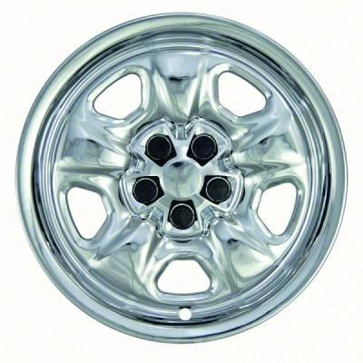 Chrome Wheel Skin 10-17 Chevrolet Camaro