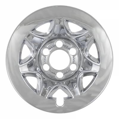 """Chevrolet - Silverado 1500 - CCI - 2014-2018 CHEVROLET SILVERADO 1500 17"""" CHROME WHEEL SKINS SET OF FOUR IMP89X"""