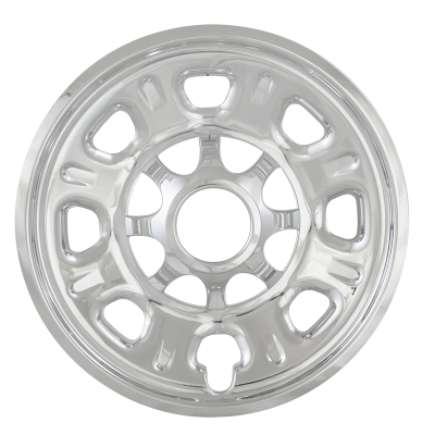 "Chevrolet - Silverado 2500 - CCI - 2011-2018 CHEVROLET SILVERADO 2500 18"" CHROME WHEEL SKINS SET OF FOUR IMP92X"