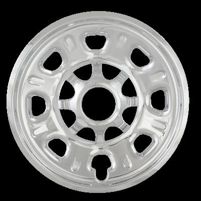 """Chevrolet - Silverado 3500 - CCI - 2011-2018 CHEVROLET SILVERADO 3500 18"""" CHROME WHEEL SKINS SET OF FOUR IMP92X"""