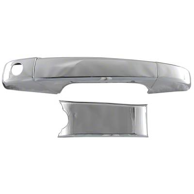 Chevrolet - Silverado 2500 - CCI - 2007-2013 CHEVROLET SILVERADO 2500-3500 CHROME DOOR HANDLE COVERS