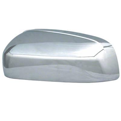 2007-2014 Chevrolet Silverado 2500-3500 CCI Chrome Mirror Covers