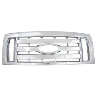 Ford - F150 - CCI - 2009-2012 FORD F150 CHROME GRILLE OVERLAY COVER