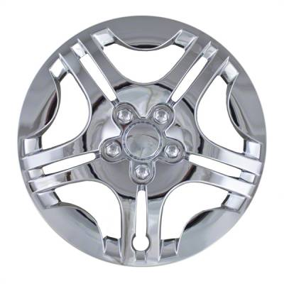 "Chevrolet - Malibu - CCI - 2004-2007 CHEVROLET MALIBU 15"" CHROME OEM REPLICA HUBCAP WHEEL COVERS"