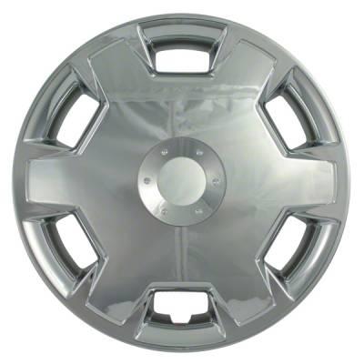 "Nissan - Cube - CCI - 2010-2014 NISSAN CUBE 15"" CHROME OEM REPLICA HUBCAP WHEEL COVERS"