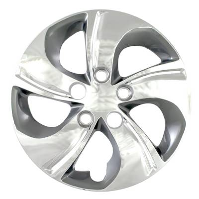 "Honda - Civic - CCI - 2013-2015 HONDA CIVIC 15"" BOLT DOWN CHROME OEM REPLICA HUBCAP WHEEL COVERS"