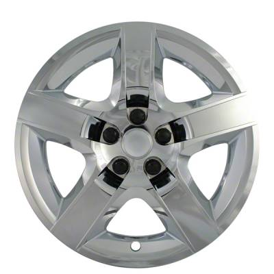 "Chevrolet - Malibu - CCI - 2008-2012 CHEVROLET MALIBU 17"" CHROME OEM REPLICA BOLT-ON HUBCAP WHEEL COVER"