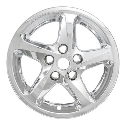 "Chevrolet - Malibu - CCI - 2016-2020 CHEVROLET MALIBU 16"" CHROME WHEEL SKINS SET OF FOUR IMP394X"