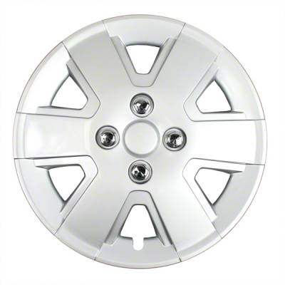 "Universal - 15 - CCI - 2006-2011 FORD FOCUS 16"" SILVER OEM REPLICA HUBCAP WHEEL COVERS"