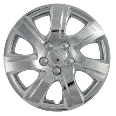 """Universal - 16 - CCI - 2010-2011 TOYOTA CAMRY 16"""" SILVER OEM REPLICA HUBCAP WHEEL COVERS"""