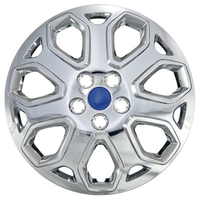 """Ford - Focus - CCI - 2012-2014 FORD FOCUS 16"""" SILVER OEM REPLICA HUBCAP WHEEL COVERS"""