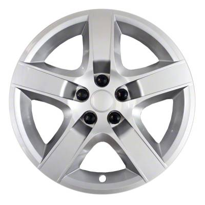 "Chevrolet - Malibu - CCI - 2008-2012 CHEVROLET MALIBU 17"" SILVER OEM REPLICA BOLT-ON HUBCAP WHEEL COVER"
