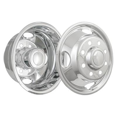 """Ford - F350 - CCI - Stainless Steel Wheel Simulator Set 05-16 Ford Superduty F350 17"""""""
