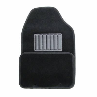 Floor Mats - CCI - Universal Value FloorMat 4 Piece Black Set