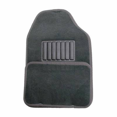 Floor Mats - CCI - Universal Value FloorMat 4 Piece Dark Charcoal Set