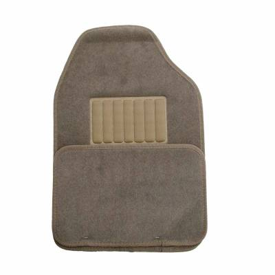 Floor Mats - CCI - Universal Value FloorMat 4 Piece Light Tan Set