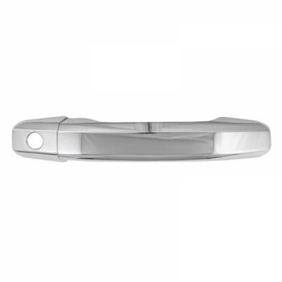 Chevrolet - Silverado 1500 - CCI - 2014-2020 Chevrolet Silverado 1500 CCI Chrome Door Handle Covers 2 Door