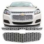 Grille Overlays - Chevrolet - Malibu