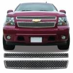 Grille Overlays - Chevrolet - Suburban