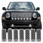 Grille Overlays - Jeep - Patriot
