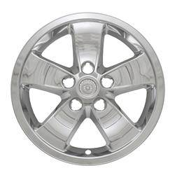 "Chevrolet - Malibu - 2013-2016 CHEVROLET MALIBU 16"" CHROME WHEEL SKINS SET OF FOUR IMP397X"