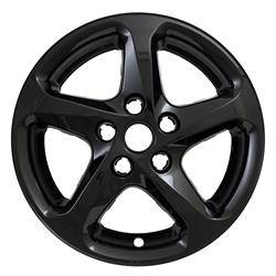 "Chevrolet - Malibu - 2016-2020 CHEVROLET MALIBU 16"" GLOSS BLACK WHEEL SKINS SET OF FOUR IMP394BLK"