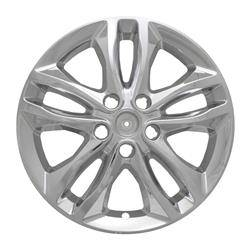 "Chevrolet - Malibu - CCI - 2016-2020 CHEVROLET MALIBU 17"" CHROME WHEEL SKINS IWCIMP406X SET OF FOUR"