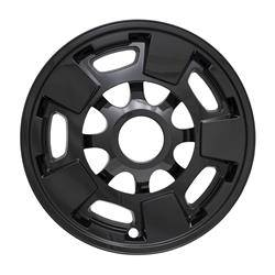 "Chevrolet - Silverado 2500 - 2011-2019 SILVERADO 2500/3500 SIERRA 2500/3500 17"" GLOSS BLACK WHEEL SKINS SET OF FOUR IMP411BLK"