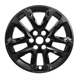 "Chevrolet - Traverse - CCI - 2018-2020 CHEVROLET TRAVERSE 18"" GLOSS BLACK WHEEL SKINS SET OF FOUR IMP416BLK OR A 8018GB"