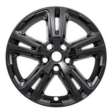 "GMC - Terrain - CCI - 2018-2020 GMC TERRAIN 17"" GLOSS BLACK WHEEL SKINS SET OF FOUR IMP417BLK"