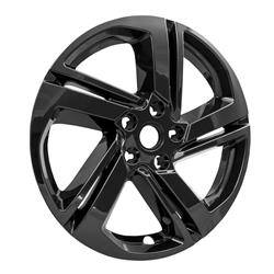 "GMC - Terrain - CCI - 2018-2020 GMC TERRAIN 18"" GLOSS BLACK WHEEL SKINS SET OF FOUR IMP418BLK"