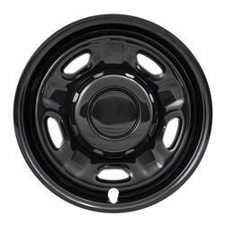 "Ford - SuperDuty F250 - CCI - 2010-2020 Ford F-250/F-350 Super Duty 17"" Gloss Black Wheel Skins SET OF FOUR IMP96BLK"