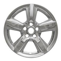 """Ford - Mustang - CCI - 2015-2019 FORD MUSTANG 17"""" CHROME WHEEL SKINS SET OF FOUR IMP408X"""