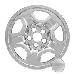 "Jeep - Renegade - CCI - 2014-2020 JEEP RENEGADE / COMPASS 16"" CHROME WHEEL SKINS SET OF FOUR IMP97X"