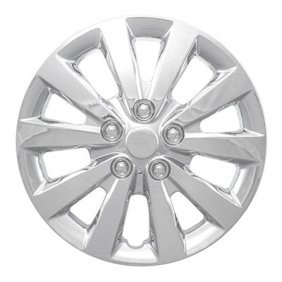 "Nissan - Sentra - CCI - 2013-2020 NISSAN SENTRA 16"" CHROME OEM REPLICA HUBCAP WHEEL COVERS"