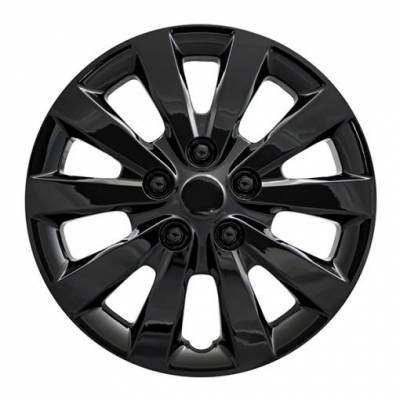 "Nissan - Sentra - CCI - 2013-2020 NISSAN SENTRA 16"" GLOSS BLACK OEM REPLICA HUBCAP WHEEL COVERS"