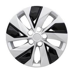 "Nissan - Altima - CCI - 2019-2020 NISSAN ALTIMA 16"" SILVER AND BLACK OEM REPLICA HUBCAP WHEEL COVERS"