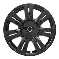 "Cadillac - SRX - CCI - 2010-2016 CADILLAC SRX 18"" GLOSS BLACK WHEEL SKINS SET OF FOUR IMP357BLK"