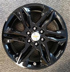 "Chevrolet - Blazer - CCI - 2019-2020 CHEVROLET BLAZER 18"" GLOSS BLACK WHEEL SKINS SET OF FOUR IMP438BLK"