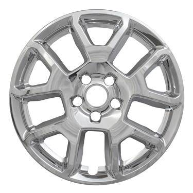 "Jeep - Renegade - CCI - 2019-2020 JEEP RENEGADE 17"" CHROME WHEEL SKINS SET OF FOUR IMP443X"