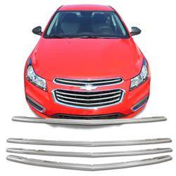 2015-2016 CHEVROLET CRUZE CHROME GRILLE OVERLAY COVER CCI